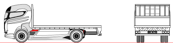 RIGID FLAT DECK BODY